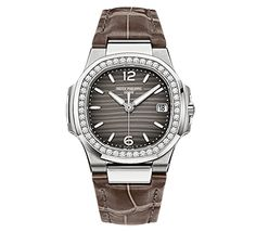 9d26f2c7405 PATEK PHILIPPE SA White gold Ladies Nautilus released at Baselworld 2013 REF.  7010G-012