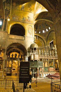 Saint Mark's Interior - Venice
