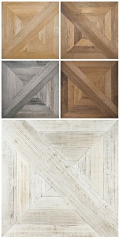 Porcelain stoneware floor tiles with old wood effect: Mansion collection Ceramiche Refin Spa