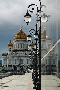 Cathedral of Christ the Savior. Moscow, Russia.