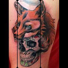 fox tattoos old school - Google Search