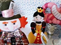 Alice no País das Maravilhas! Ateliê Mon Petit by Hélita Cerqueira