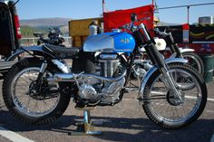 1952 AJS Trials bike