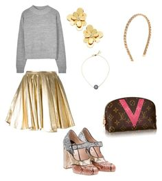 """""""Lady In Gold"""" by brookpark on Polyvore"""