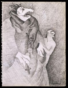 Leonora Carrington 'Do You Know My Aunt Eliza?', 1941 © The estate of the artist, DACS, 2016