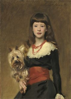 John Singer Sargent, 'Miss Beatrice Townsend', 1882