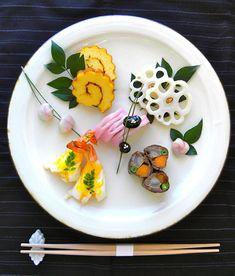 Japanese traditional New Year foods, Osechi おせち料理