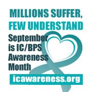 September is IC Awareness Month in the US. Go to www.healthaware.org for link to more information.