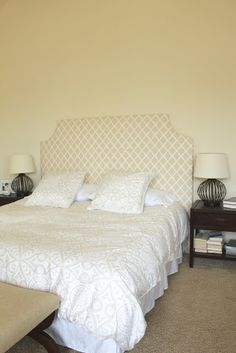 DIY Headboard Tutorial! {I think this is the one...}