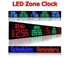 39 Best Digital Time Zone Clocks Images Digital Clocks Time Zone