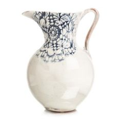 Lace Handpainted Jug