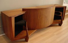 Here's a magnificent example of mid-century modern design...in a stereo loudspeaker system!