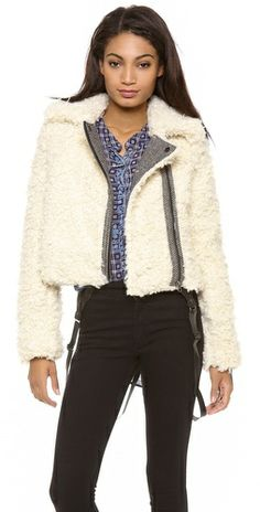 Free People Shaggy Moto Jacket Review Buy Now