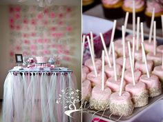 pink marshmellows with white canyd coating and silver dust