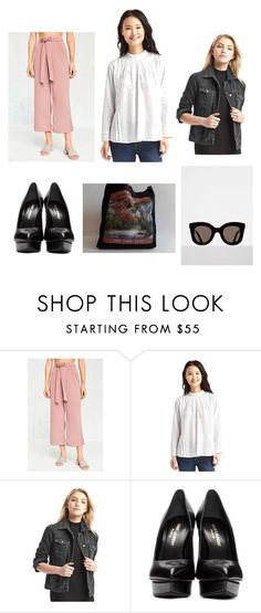 """""""Fall"""" by allpeoplewilltravel on Polyvore featuring BDG, Gap and Yves Saint Laurent"""