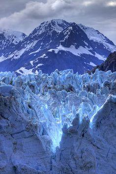 Glacier Bay's Glaciers, Alaska, USA.
