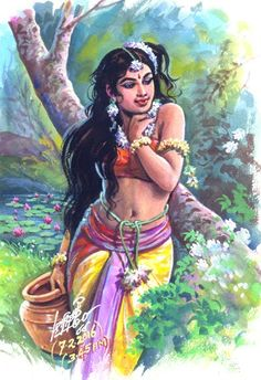 Very nice but not touch why? Indian Women Painting, Indian Art Paintings, Indian Artist, Abstract Paintings, Oil Paintings, Landscape Paintings, Art Sketches, Art Drawings, Indian Drawing