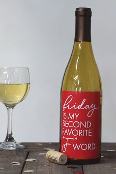 Funny gift idea for any occasion. Funny wine labels for a birthday gift or party. Also, a great co-worker gift. Funny Wine Labels, Cheer Up Gifts, Waterproof Labels, Charlotte's Web, My Life Quotes, Rough Day, Get Happy, Gifts For Coworkers, Adhesive Vinyl