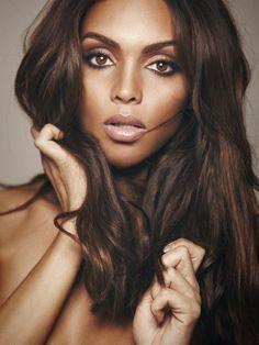 Beautiful. Love her hair and makeup! #makeup #hair #layers Beauty Makeup, Hair Makeup, Hair Beauty, Flawless Makeup, Glam Makeup, Beauty Style, Black Beauty, Beautiful Black Women, Beautiful Eyes