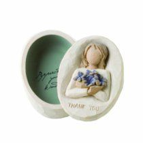 Double click on item to go to purchase page.  DEMDACO Willow Tree Thank You Keepsake Box  $15.96