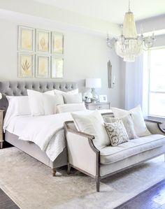 Beautiful and elegant bedroom update Top 10 of 2017