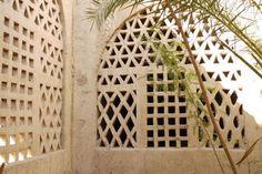 Windows, allow natural ventilation,  Hassan Fathy, Gourna Egypt