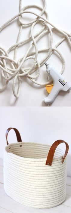Cesta DIY con Cuerda - aliceandlois.com - DIY Rope Basket