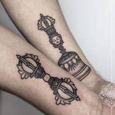 tibetan phuket tattoos for women - Yahoo Image Search Results Back Tattoos, Leg Tattoos, Body Art Tattoos, Buddha Tattoos, Blackwork, Tibetan Tattoo, Anniversary Tattoo, Belle Tattoo, Plane Tattoo