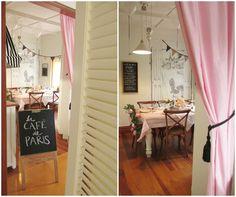 Party at La cafe de paris - entrance