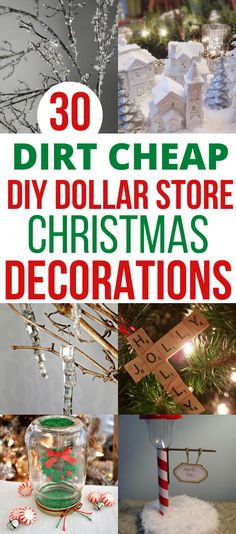 On a lookout for Dollar Store Christmas crafts for kids and adults alike? Try one of these affordable DIY Dollar Store Decorations that will bring the holiday spirit into your home on a small budget! Mason Jar Christmas Gifts, Edible Christmas Gifts, Christmas Gifts For Coworkers, Christmas Crafts For Kids To Make, Dollar Store Christmas, Christmas On A Budget, Christmas Diy, Christmas Decorations, Xmas
