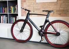 Valour carbon fibre bicycle by Vanhawks_dezeen_4