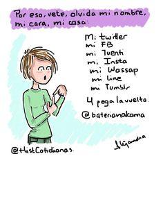 Por eso, vete...  (Dibujo inspirado en un tuit de @baterianakama ).