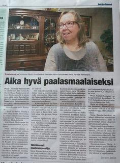 Merja Rantala-Rantakari Vaarojen Sanomien jutussa. Event Ticket, Vintage, Vintage Comics