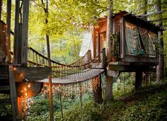 Treehouse you can live in for a weekend