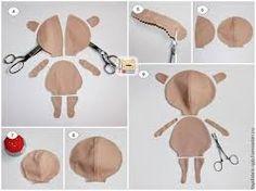 Resultado de imagem para molde da boneca tilda baby