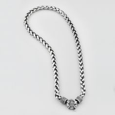 Miglio Designer Jewellery - Burnished Silver Wheat Chain Necklace, R699.00 (http://shopza.miglio.com/shop-by-product/burnished-silver-wheat-chain-necklace/)