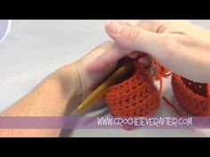 ▶ Creating a Half Double Crochet Straight Seam in the Round - YouTube