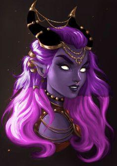 Arte Digital Fantasy, Digital Art Girl, Fantasy Character Design, Character Inspiration, Character Art, Gothic Fantasy Art, Fantasy Girl, Female Demons, Demon Art