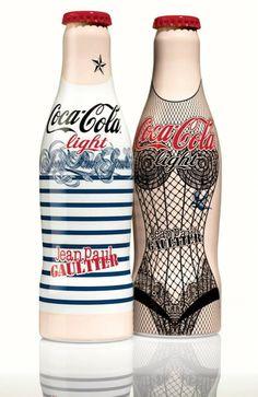 Jean Paul Gaultier Unveils Coke Light Limited-Edition Bottle Designs