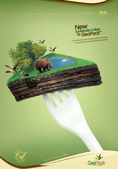 Ecofriendly Disposables GeoPack: Fork