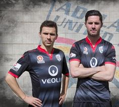 These are the new Adelaide United kits 15/16, Adelaide's new home and away strips for the upcoming A-League season. Made by Kappa, the new Adelaide United FC jerseys were officially unveiled on Aug...