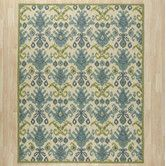 Found it at AllModern - Blair Ivory & Green Area Rug