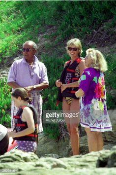 Diana's last holiday, 1997. July 14