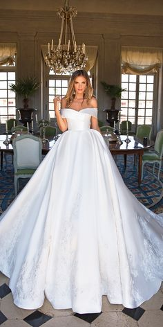 simple wedding dresses ball gown off the shoulder elegant milla nova virginia