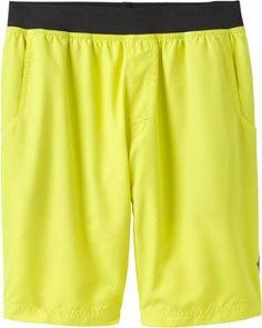 prAna Men's Mojo Shorts Sulphur XL