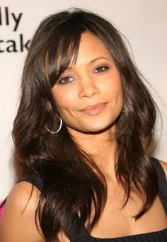 Thandie Newton---- is a British actress.She has appeared in a number of British and American films, including ''The Pursuit of Happyness'', ''Mission: Impossible II', ''Crash'', ''Run Fatboy Run'','' W.'', ''2012'', ''Norbit'' and ''For Colored Girls''.