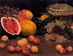 Still Life with Fruit, Ignacio Diaz Olano