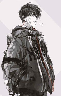 art in 2019 anime art, character design, art. Manga Boy, Anime Manga, Anime Art, Vampire Female, Image Manga, Boy Character, Anime Kunst, Hot Anime Guys, Human Art