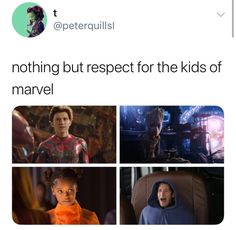 Read these & dc and marvel memes Funny Marvel Memes, Marvel Jokes, Dc Memes, Avengers Memes, Marvel Heroes, Marvel Avengers, Funny Memes, Marvel Facts, Tom Holland