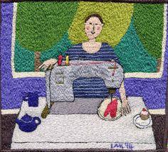 linda miller embroideries - gorgeous.  via Linda Chew.